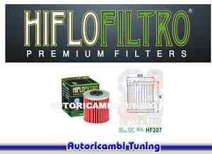 Filtre à Huile HIFLO HF207 Pour Suzuki Rmx Z - 450 Cc - Années : 2010 - 2013