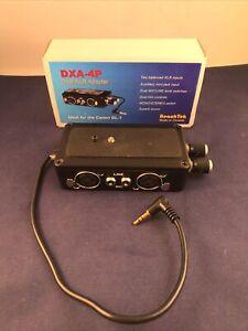 BeachTek DXA-4P Dual XLR Adapter