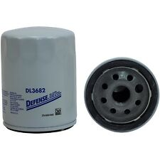 Defense DL3682 Engine Oil Filter - Spin-On Full Flow Fits Nissan Volkswagen
