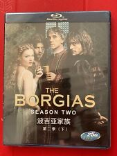 The Borgias: The Second Season (Blu-ray Disc, 2013, 3-Disc Set)