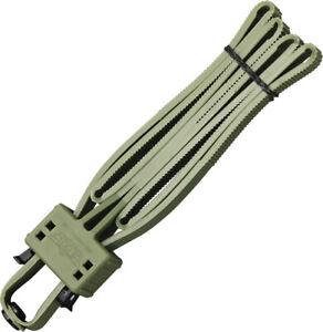 UZI OD Green Heavy Duty Police Disposable Flex Handcuffs FLXCGR