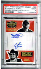 2014 Panini Country Brantley Gilbert and Colt Ford Signatures -Gold PSA 10 #5/10