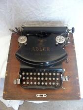 "Macchina da scrivere ""Adler N. 7"" Collezione Antiquariato"