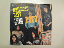 """POCO:Railroad Days 2:55-You Are The One 2:25-Holland 7"""" 1972 Epic EPC 7794 PSL"""
