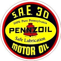 Vintage Pennzoil Motor Oil Decal - The Best!!