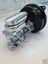 67 68 69 70 Mustang brake booster & flat top master cyl w/ 4 wheel disc valve