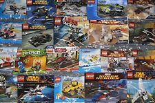 LEGO Polybag sets STAR WARS MARVEL DC NINJAGO CITY TMNT CREATOR CHIMA LOTR etc