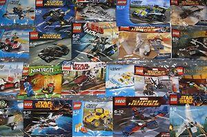 LEGO SETS STAR WARS MARVEL DC NINJAGO CITY TMNT CREATOR CHIMA LOTR etc