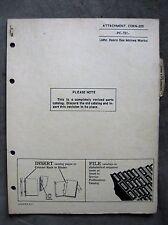 John Deere 205 Corn head Parts catalog Manual 45 55 Combine ORIGINAL