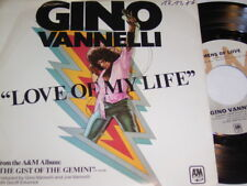"7"" - Gino Vannelli Love of My Life & Omens of Love-US 1976 # 5154"