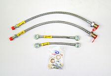 Clásico Mini Goodridge Trenzada a Metro Delante Cable Freno Kit de Conversión