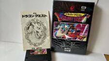 Dragon Quest Dragon Warrior MSX MSX2 Game Cartridge,Manual ,Boxed set -a413-