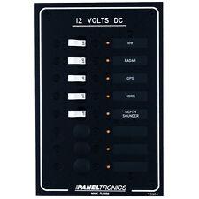 Paneltronics Standard DC 8 Position Breaker Panel w/LEDs