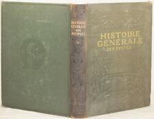 HISTOIRE GENERALE DES PEUPLES DE L'ANTIQUITE LAROUSSE EGITTO GRECIA GERMANIA