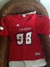 RUSSELL ATLETIC NCAA louisiana lafayette ragin'cajuns football jersey size L men