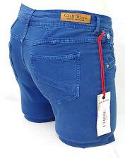 CHIPIE jeans toile slim femme bleu PEROX CURACAO 8B22142