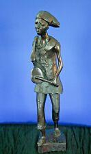 "West African, Sculpture, Drummer, 24"""
