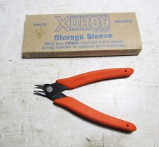 "New Xuron #410 Electronics Jewelers Micro Shear Flush Cutting Pliers 5"" long-USA"