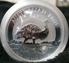 2018 $1 Australia Emu 1 Oz Silver Coin 30,000 Minted In Hand Ready to Ship!