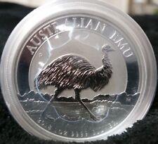 2018 $1 Australia Emu 1 Oz Silver BU Coin 30,000 Limited Mintage Perth Mint