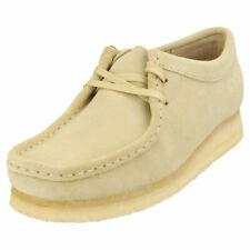 Clarks Originals Wallabee Womens Maple Suede Wallabee Shoes