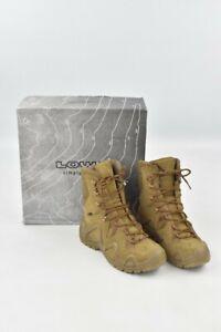 LOWA Zephyr GTX Hi Task Force Coyote Desert Boots UK Size 7 Brown In Box Combat