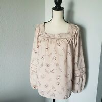 Lauren Conrad Womens Long Sleeve Blouse