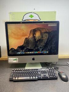 "Apple iMac 24"" 2009 A1225 Intel Core 2 2.93GHz 8GB RAM 640GB HDD AIO COMPUTER 2i"