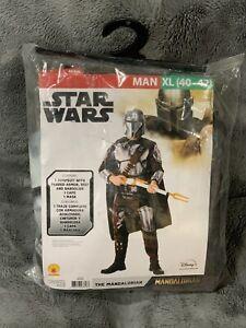 Brand New Men's Star Wars The Mandalorian Berskar Adult Halloween Costume XL