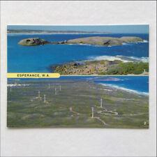 Esperance WA Twilight Cove Wind Generators Postcard (P392)