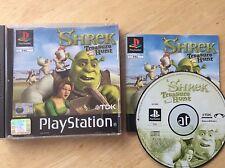 Shrek Treasure Hunt Ps1 Game! Complete! Look In The Shop!