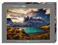 GUANACOS - Edition Alexander von Humboldt - Heye Puzzle 29815 - 1000 Pcs.