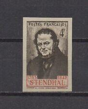 France : n° 550 a (Stendhal). Non dentelé. **. Cote 70 €.