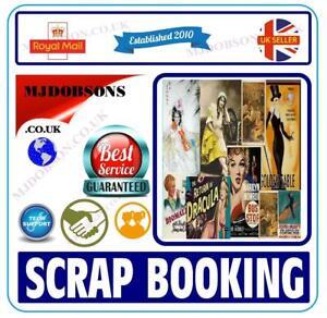 VINTAGE ART DECO SCRAPBOOKING  CLIPART IMAGES printable DVD
