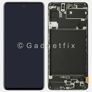 USA For Samsung Galaxy A71 A715 LCD Display Touch Screen Digitizer + Frame