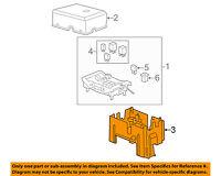 GM OEM Fuse Relay-Mount Bracket 22817835