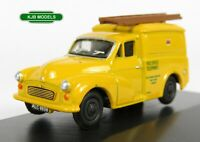 BNIB OO GAUGE OXFORD 1:76 76MM061 Morris 1000 Post Office Telephones Yellow Van