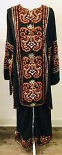 Jordanian Traditional Women's Clothing Top and Pants Size Large