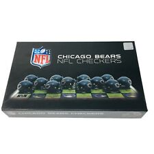 Chicago Bears Vs Green Bay Packers Checkers - 1993 NFL Board Game COMPLETE