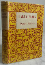 1958 HARRY BLACK DAVID WALKER REPRINT SOCIETY LONDON + JAQUETTE IN12 BE