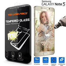 PREMIUM ULTRA CLEAR TEMPER GLASS LCD SCREEN PROTECTOR FOR SAMSUNG GALAXY NOTE 5