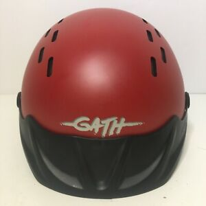Gath Water Sports Red Helmet Gedi EN 1385 Size XL Kite Windsurf Surf Kayak