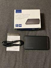 "Insignia Laptop 2.5"" Hard Disk Drive Enclosure SATA USB 3.0 NS-PCHD235"
