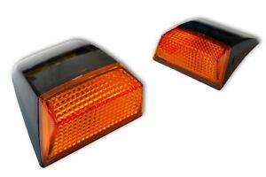 2 x SIDE MARKER LIGHTS VOLVO FH II - FM II 2006 E4 L & R OUTLINE LAMPS TRUCK