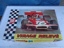 jeu jouet ancien Circuit 24 boite + rails jouef record 64 porche ferrari