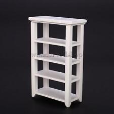 1/12 Puppenhaus Miniatur Möbel Regal Aus Holz -Weiß