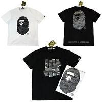 Men's Bape tee A Bathing Ape T-shirt Undefeated US size