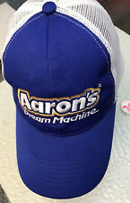 Aaron's  Dream Machine Blue / White Cotton Strapback Baseball Cap Aaron Hat