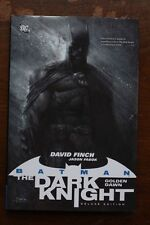 BATMAN The Dark Knight FUTURE DAWN Deluxe Edition - DAVID FINCH Hardback 1st Ed.