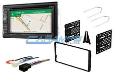 "NEW POWER ACOUSTIK 6.2"" GPS NAVIGATION BLUETOOTH STEREO RADIO AUX/USB W DASH KIT"